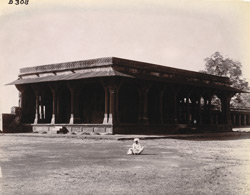 General view from the east of the Daftar Khana, Fatehpur Sikri